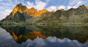 Kick Tatras i Slovakien royaltyfria foton