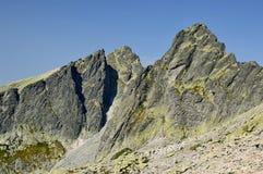 Kick Tatras i Slovakien royaltyfri bild