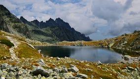 Kick Tatras i Slovakien arkivbilder
