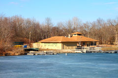 Kickapoo Landing on Clear Pond Stock Photography