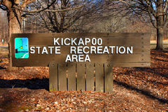 Kickapoo State Recreation Area Illinois Royalty Free Stock Photography