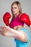 kickboxer Zdjęcie Royalty Free