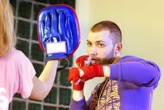 Kickboxer Royalty Free Stock Photos