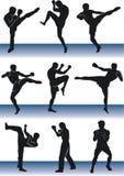 kickboxer Royaltyfri Bild