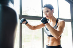 Kickboxer 免版税库存图片