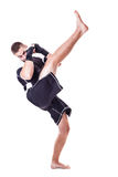 Kickboxer Royalty Free Stock Photo
