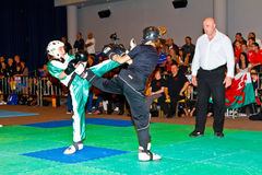 kickboxing κόσμος πρωταθλήματος &tau Στοκ Εικόνα