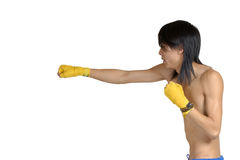 Kickboxing Imagens de Stock Royalty Free