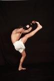 Kickboxing. Fotografia de Stock Royalty Free