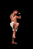 Kickboxing. Photos stock