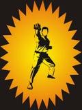 kickboxing Fotografia Stock