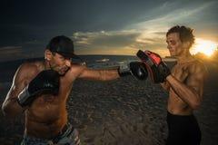 kickboxing Lizenzfreies Stockfoto