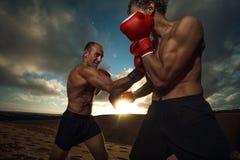 kickboxing Lizenzfreie Stockbilder