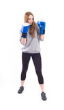 Kickboxing Girl Stock Photography