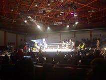 Kickboxing-Match stockfoto