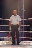 Kickboxing referee Stock Photo