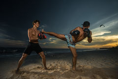 Kickboxing Royalty Free Stock Image