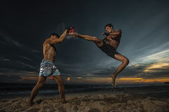 Kickboxing Royalty Free Stock Photo