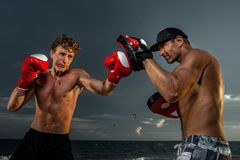 Kickboxing Royalty Free Stock Photography
