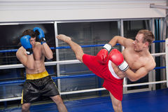 Kickboxing. Royalty Free Stock Photo