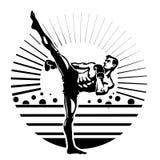 Kickboxing. Stock Photo