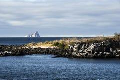 Kicker βράχος, νησί SAN Cristobal, Galapagos Στοκ φωτογραφία με δικαίωμα ελεύθερης χρήσης