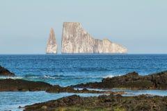 Kicker βράχος (dormido του Leon) στο νησί SAN Cristobal Στοκ Εικόνα