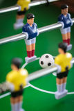 Kicker football game Stock Photography