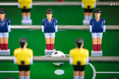 Kicker football game Stock Photo
