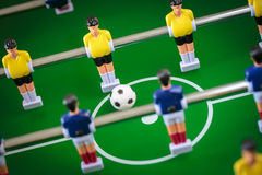 Kicker football game Royalty Free Stock Image