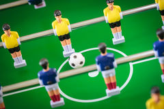 Kicker football game Stock Images