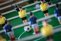 Kicker football game Royalty Free Stock Photo