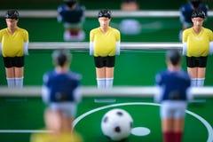 Kicker football game Stock Image