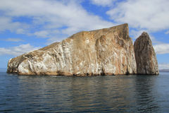 Kicker Rock. Kick Rock in Galapagos Islands on a bright, sunny day Stock Photo