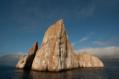 Kicker Rock - Galapagos. Also known as Lion Rock (roca leon dormido Stock Photo