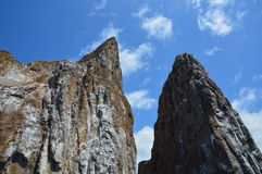 Kicker Rock Galapagos Stock Images