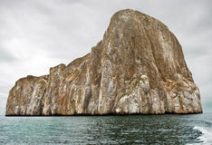 Kicker Rock , Galapagos Islands. Full View of Kicker Rock in Galapagos Islands Stock Photos