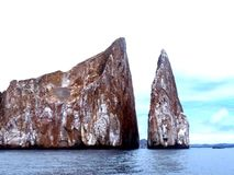 Kicker Rock. At galapagos islands, Ecuador Stock Images