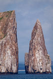 Kicker Rock Island, Galapagos Islands Royalty Free Stock Photo