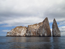 Kicker Rock Landscape royalty free stock image