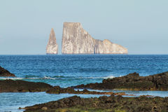 Kicker Rock (Leon dormido) in San Cristobal island Stock Image