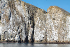 Kicker Rock (Leon dormido) in San Cristobal island Stock Photo