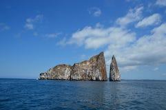 Kickeren vaggar Galapagos Royaltyfria Bilder