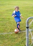 Kicking Goal Royalty Free Stock Photography