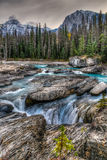 Kicking Horse River Stock Photo