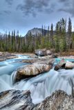 Kicking Horse River in Yoho National Park, Canada Royalty Free Stock Photography