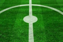 Kickoff do futebol Fotos de Stock Royalty Free