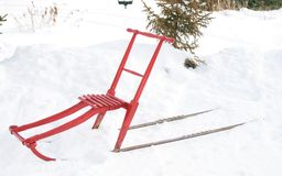 Kicksled Royalty Free Stock Images