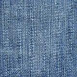 Denimtyg texturerar - ljust - blått Arkivbild