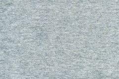 Bomullstyg texturerar - grå färg Royaltyfri Fotografi